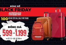 American Tourister Blackfriday sale