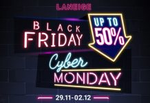 laneige black friday sale