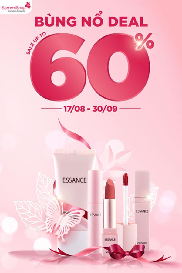 sammi shop essance sale 60% 17-8-2021